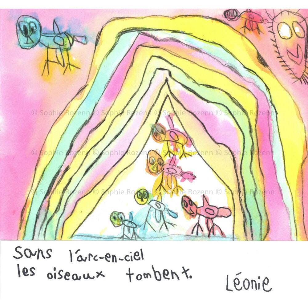 Mots comme trois pommes – Léonie