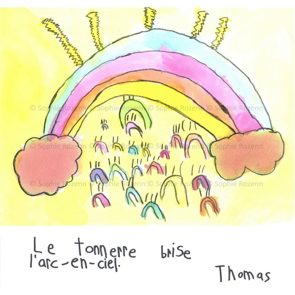 Mots comme trois pommes – Thomas