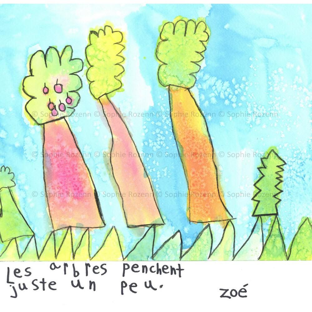 Mots comme trois pommes – Zoé